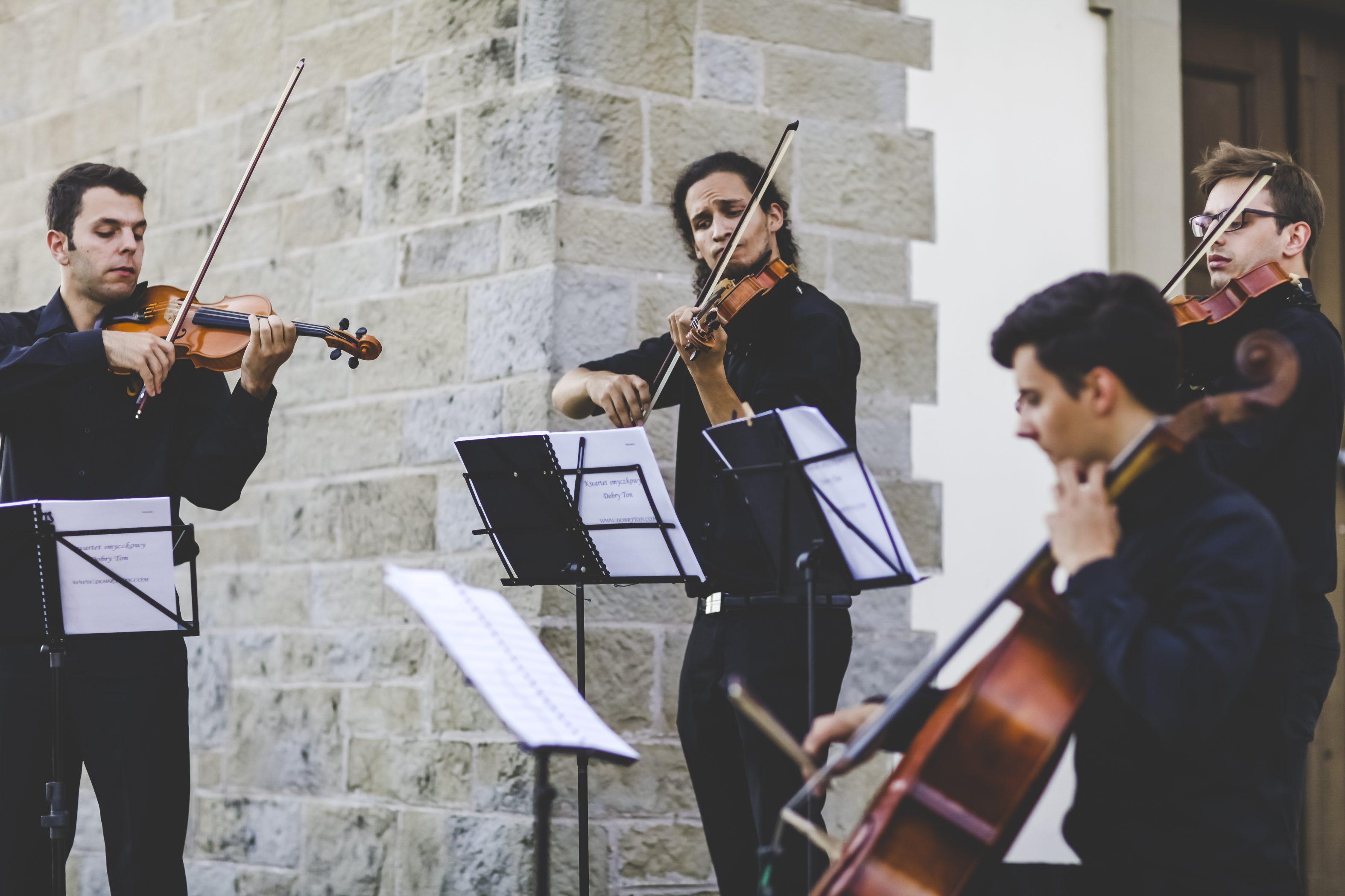 Skrzypce Na ślub Kościelny Oprawa Muzyczna ślubu Kwartet Smyczkowy