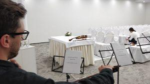 oprawa muzyczna ślubu cywilnego w Hotelu Qubus w Krakowie