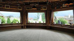 Występ kwartetu smyczkowego Dobry Ton na weselu w Góralskim Dworze w Kościelisku